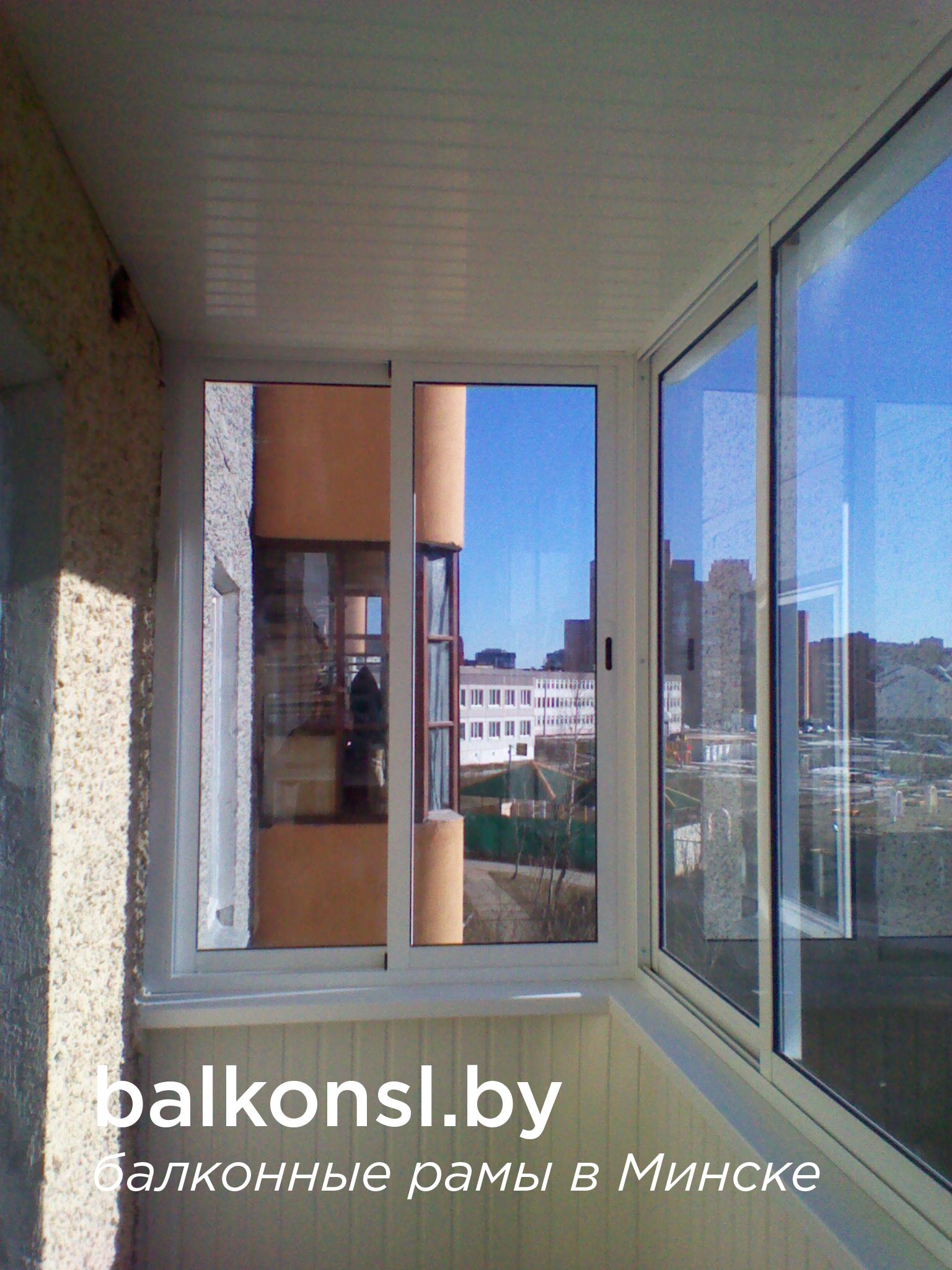 Алюминиевые раздвижные балконные рамы. в минске, продам, куп.